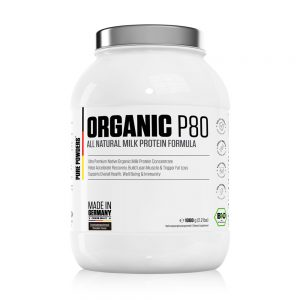 Pure Powders® ORGANIC P80 1000g Chocolate Flavour