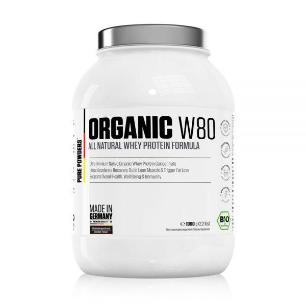 Pure Powders® ORGANIC W80 1000g Chocolate Flavour